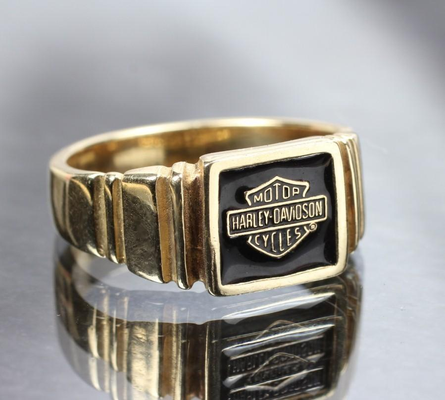10K Harley Davidson Motorcycle Ring