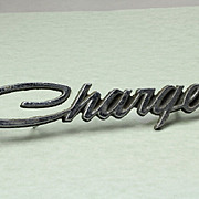 Original Factory 1971 Dodge Charger Fender Emblem