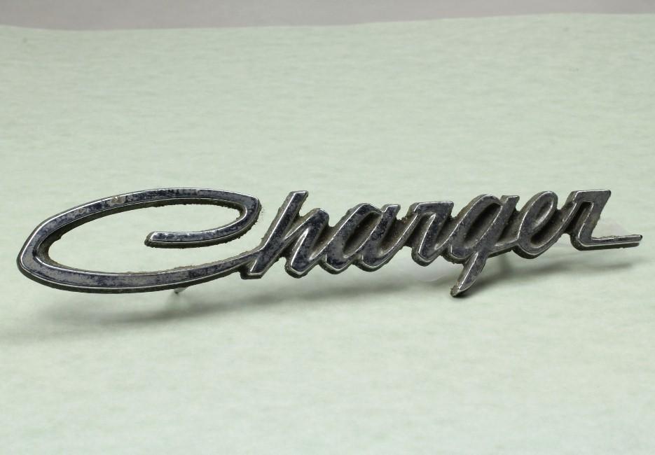 Original Factory 1971 Dodge Charger Fender Emblem