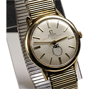 Omega Gold Filled - 1966 Cotton Bowl Watch - LSU beat Arkansas 14 to 7
