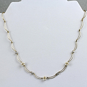 10K Yellow Gold Diamond & Pearl Necklace