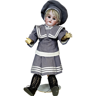 """Simon & Halbig Doll 1890-1910 Perfect Bisque Head, Jointed Body, 15"""""""