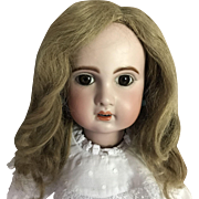 """Gorgeous Antique Wig for Large Doll 14"""" circ."""