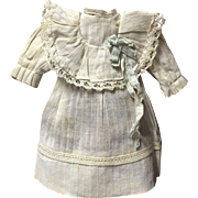 Sweet Tiny Antique Doll Dress