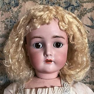 "Sweet Antique 24"" Simon Halbig K*R Doll"