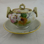 Vintage Nippon Porcelain Mustard Pot Morimura