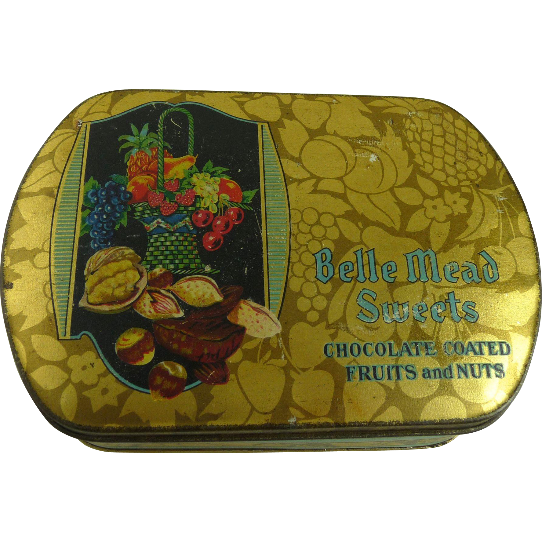 Vintage Tindeco Tin Belle Mead Sweets