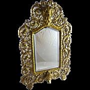 Antique Victorian Vanity Mirror