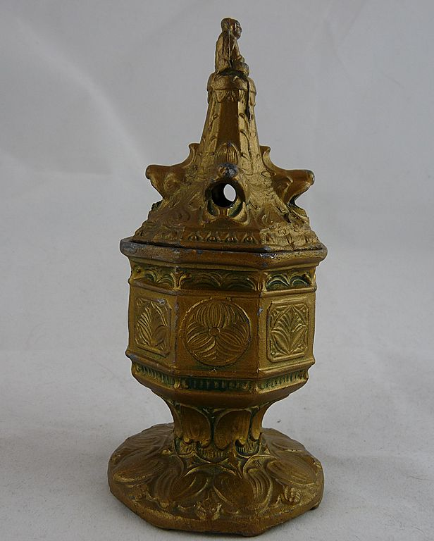 Vantine's Incense Burner with Lion Heads