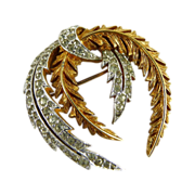 Vintage Panetta Brooch Wreath Design