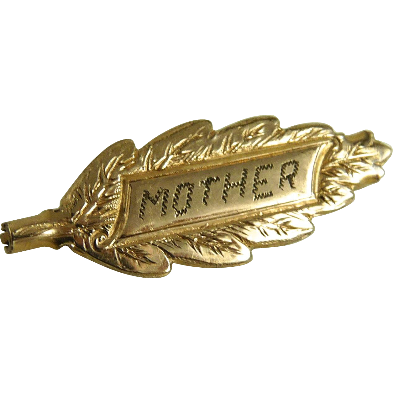 Antique Edwardian Mother Pin