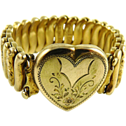 Vintage Sweetheart Expansion Bracelet