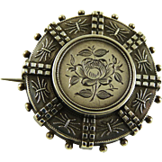 Antique Victorian Aesthetic Period Silver Pin