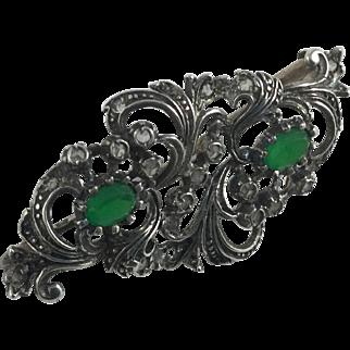 Vintage Art Nouveau Pin