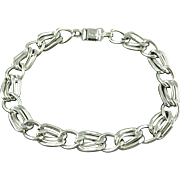 Vintage Germany Aluminum Link Necklace