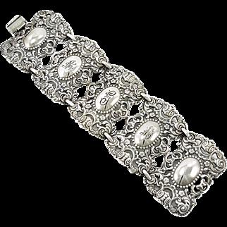 Vintage Napier Art Nouveau Style Bracelet