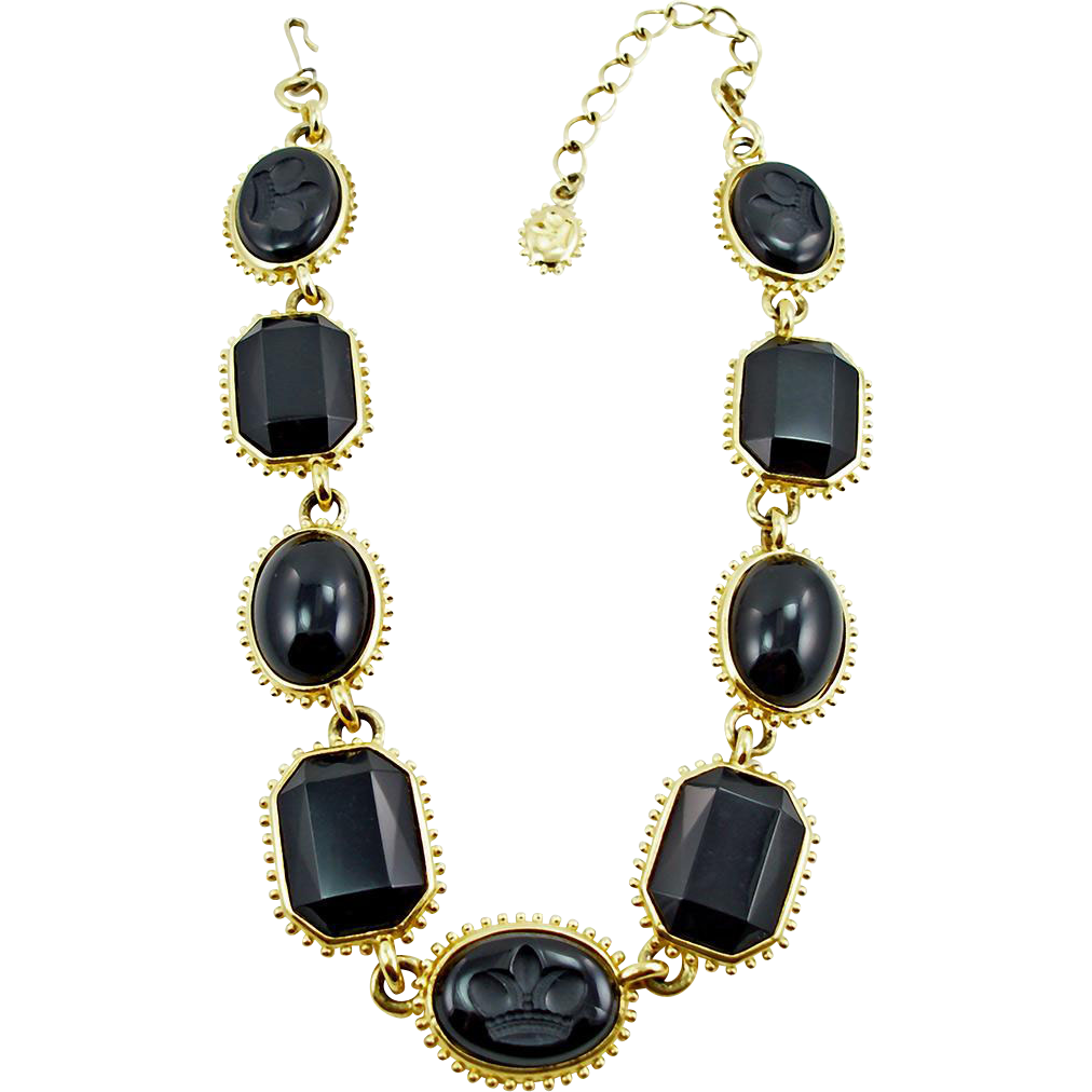 Vintage Heather N Williams for Trifari Necklace