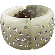 Paris Haute Couture Resin Bracelet by Dominique Denaive