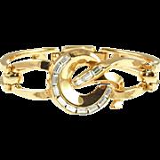Vintage Trifari 1954 Carousel Bracelet