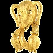 Vintage Trifari Elephant Pin