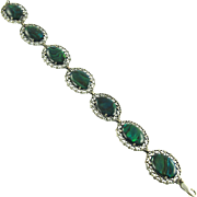 Kabana Sterling & Abalone Bracelet