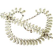 Vintage Kramer Crystal Rhinestone Necklace and Bracelet