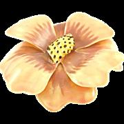 Vintage Sandor Pastel Enameled Flower Pin