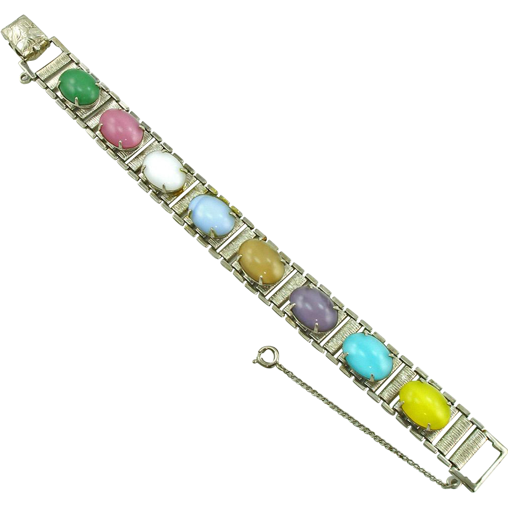 Vintage Sarah Coventry Party Pastels Bracelet