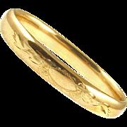 Vintage Gold Filled Bracelet Signed Bojar