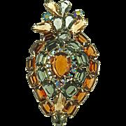 Vintage Large Unsigned Fruit Pin