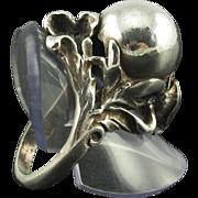 Vintage Sterling Arts & Crafts Ring