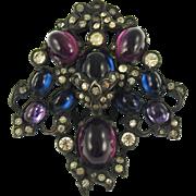 On Hold for Jessica Heisler Vintage Unsigned Floral Dress Clip