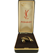 Vintage Yves Saint Laurent (YSL) Key Ring