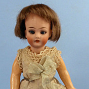 "7"" All Original German Bisque-Head Flapper Child"