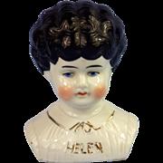 "China ""Helen"" Name Low Brow Head"