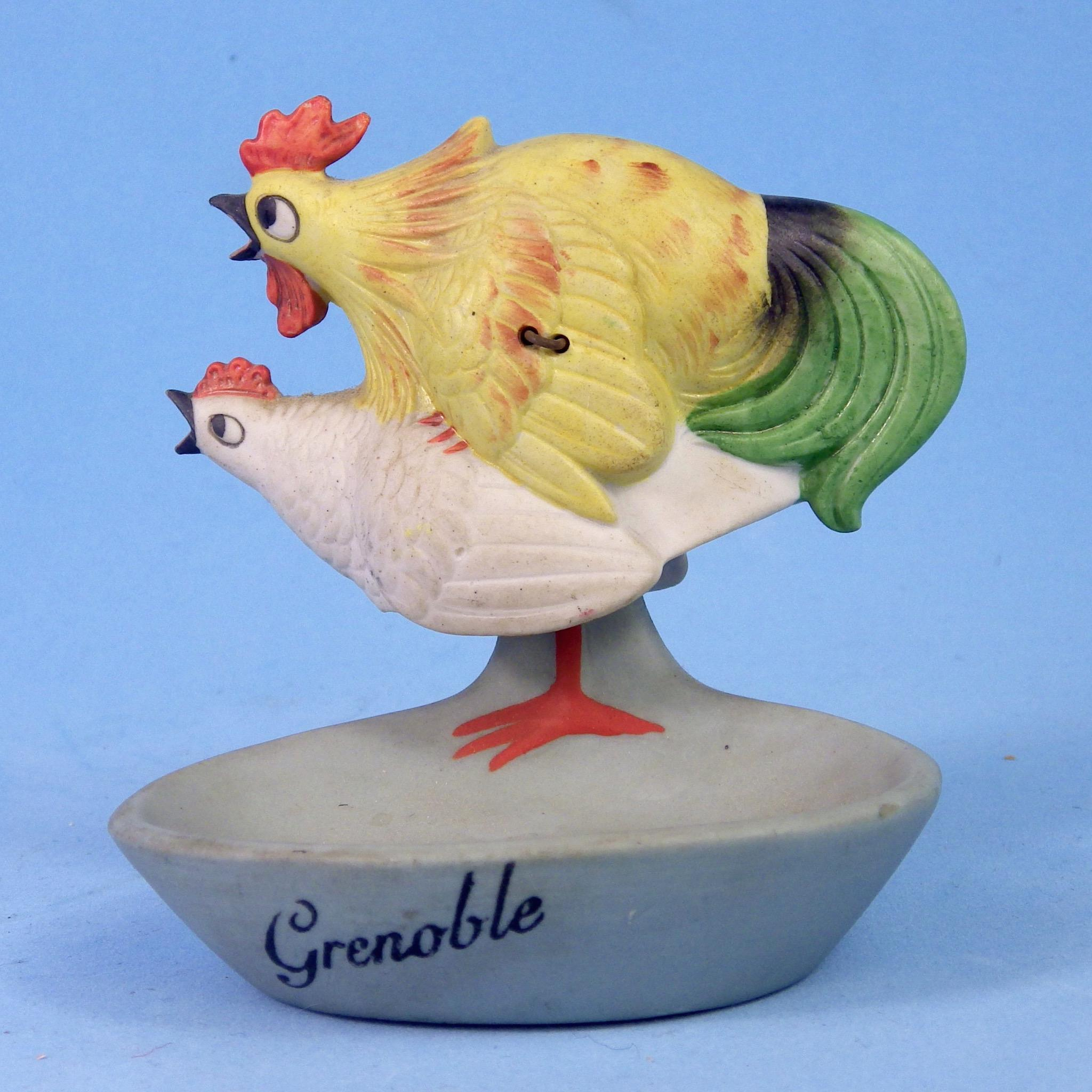 Schafer & Vater Naughty Nodder of Mating Chickens