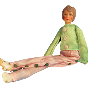 "21"" Boudoir Doll Flapper Clown"
