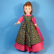 "50s 14""  Little Women Meg, All Original, Tag"