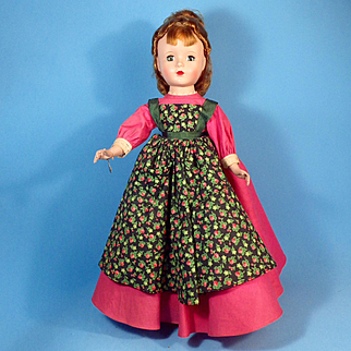 "50s 14""  Little Women Meg, All Original, Tag"