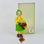 Vintage Anne Beate Flower Girl, Original Box, Danish