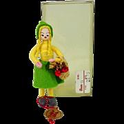 Vintage Anne Beate Flower Girl, Original Box, Danish
