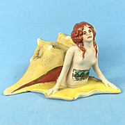 1933 Chicago Fair Mermaid Bathing Beauty Figurine