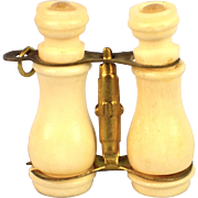 Miniature Bone Binoculars, Stanhope, Niagara Falls