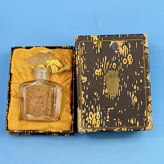 1920 Garden of Allah Bottle, Original Box