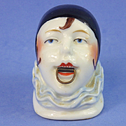 Working German Pierrette/Clown China Tape Measure