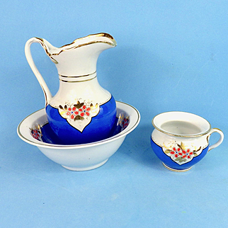 3 Piece China Doll Wash Set