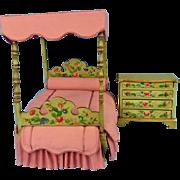 Hand Painted Artisan Bedroom Set