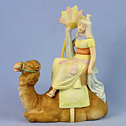 Schafer & Vater Egyptian Woman on Camel