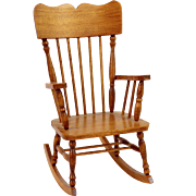 Signed & Dated Carlisle Rocking Chair