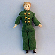 Dollhouse Footman, All Original, Mustache